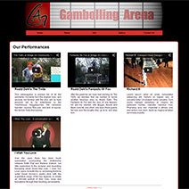 Gambolling Arena Version 2 Website